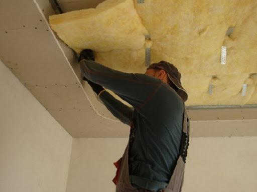 Шумоизолируем потолок